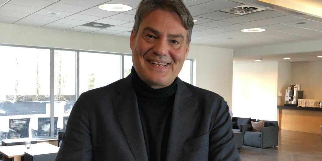 Professor på Høgskulen på Vestlandet, Tom Are Trippestad. Foto: Amanda Schei