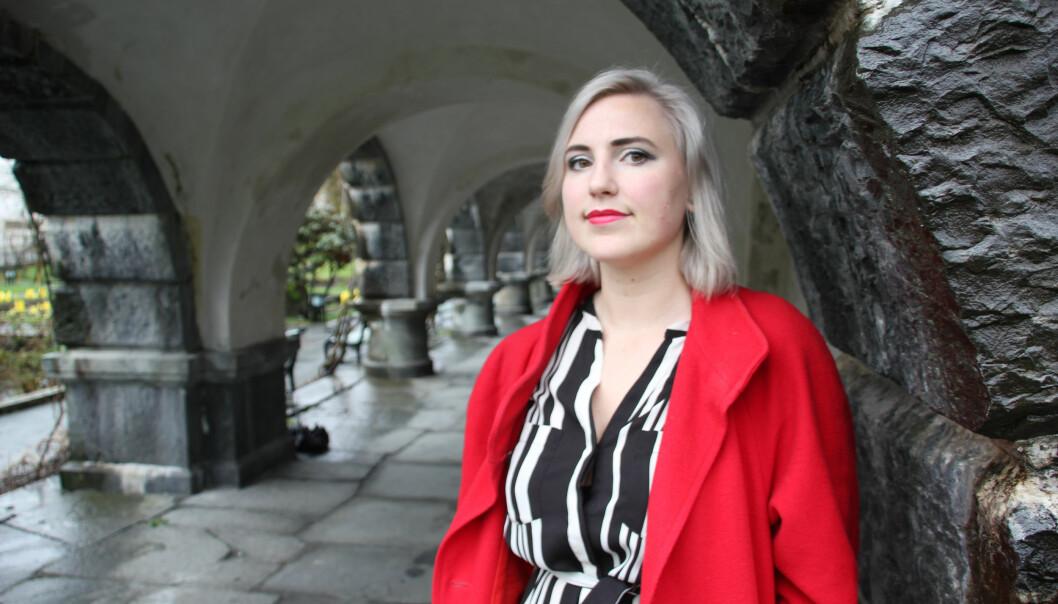 Sofie Marhaug (Rødt) vil ha mer frie midler til universitet og høgskoler, og droppe avbyråkratiseringskutt.