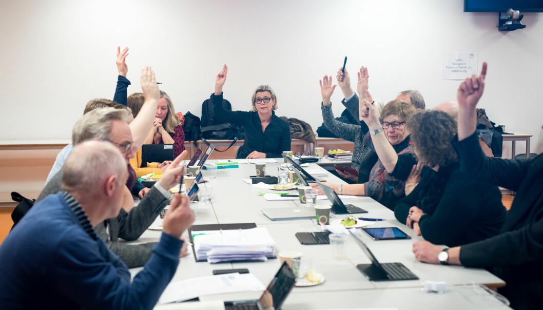 Det forrige styret ved daværende Høgskolen i Oslo og Akershus fattet et gyldig vedtak om å legge ned fakultetsstyrene og erstatte dem med råd, konkluderte en jussekspert, selv om vedtaket ikke står i noen protokoll og saksbehandingen inneholdt en rekke feil. Nå er ordningen med fakultetsråd evaluert og har vært på høring. Foto: Skjalg Bøhmer Vold