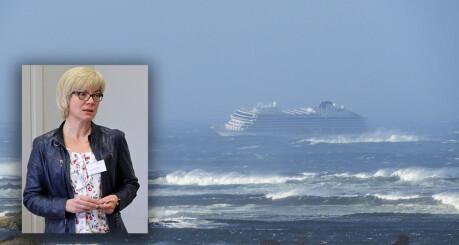 La restriksjoner på de ansattes kontakt med mediene under Viking Sky-ulykken. Årsak: Universitetets samarbeid med cruiseselskapet.