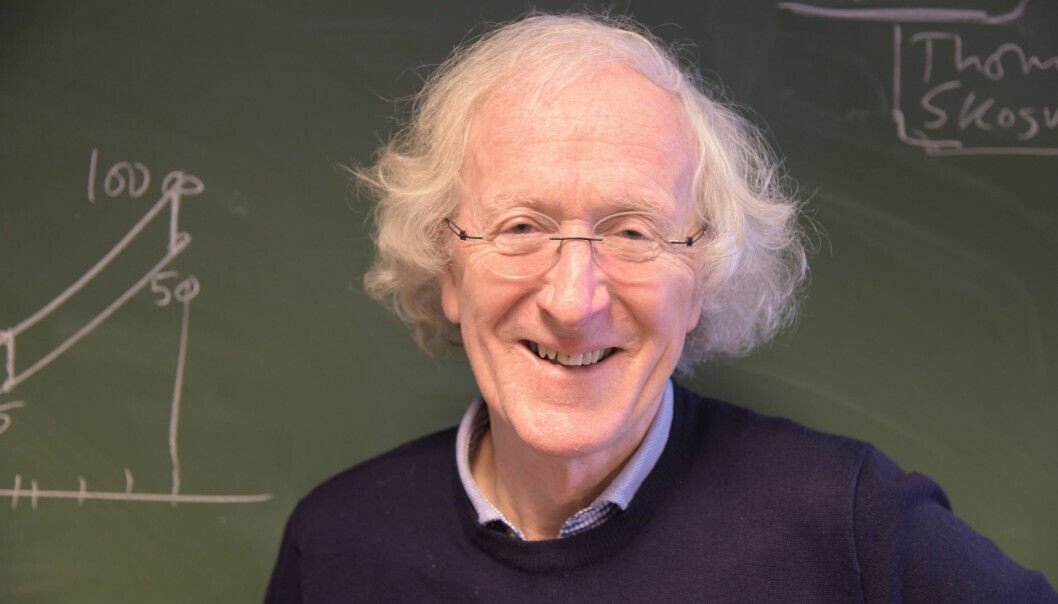 Rolv Skjærven var den eneste norske forskeren som fikk ERC Avdanced Grant i 2018. Foto: Kim Andreassen