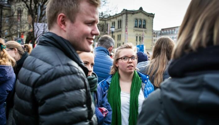 Leder av Norsk studentorganisasjon, Håkon Randgaard Mikalsen, fikk Lars Føleide kastet som komitémedlem i NSOs velferds- og likestillingspolitiske komité i februar. Foto: Siri Øverland Eriksen