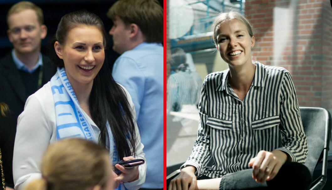 Valgkomitéen til Norsk studentorganisasjon er delt i sin innstilling mellom Marte Øien og Susann Andora Biseth-Michelsen.
