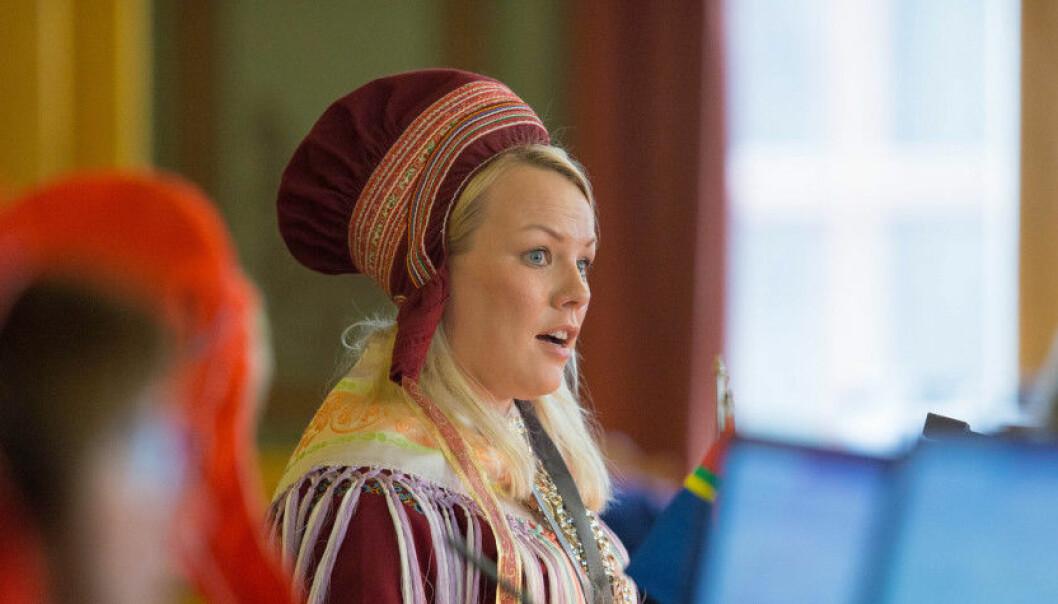 Laila Susanne Vars overtar som rektor ved Samisk høgskole 1. august. Foto: Stortinget
