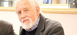Nils Georg Brekke slått til riddar av St. Olavs orden