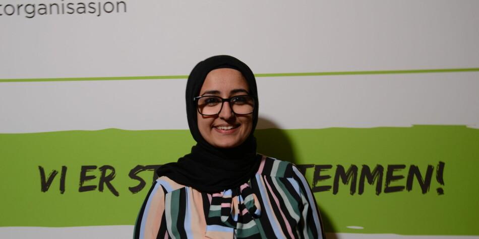 Fatema Al-Musawi går heller for nestledervervet. Foto: Amanda Schei