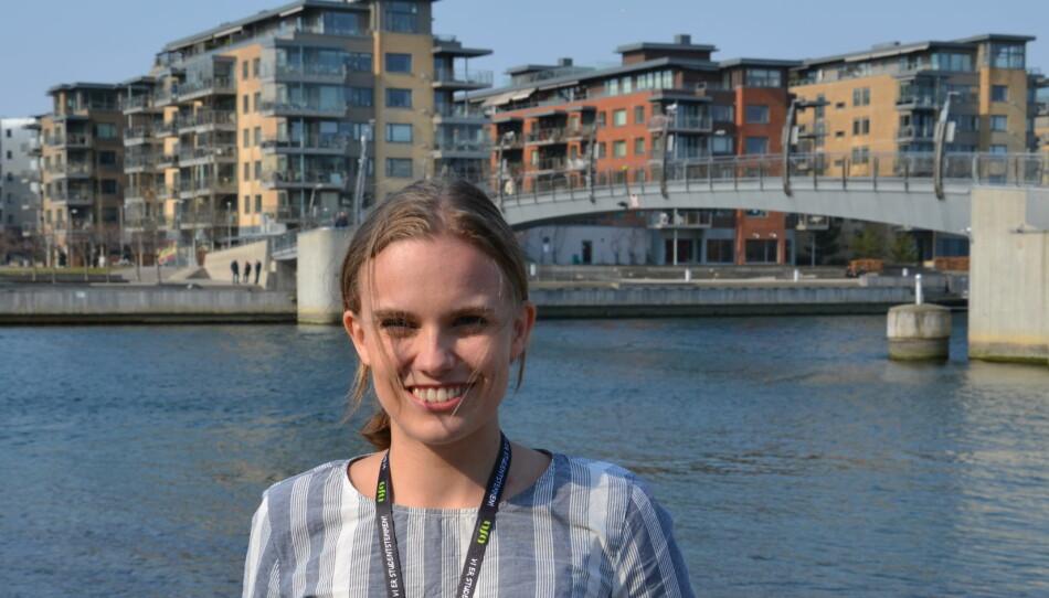 — Jeg mener det er synd at det er mange med høyere utdanning fra andre land i Norge, som ikke får brukt denne kompetansen, og må gjennom voksenopplæring, sier Runa Kristine Korneliussen Fiske fra Universitetet i Oslo. Foto: Amanda Schei