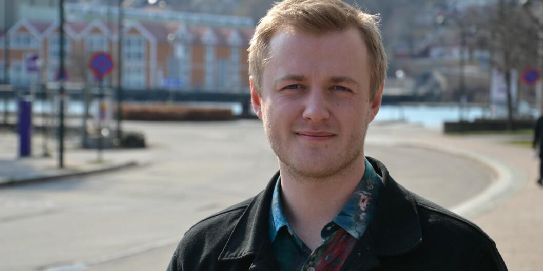 — Folkehelsemeldingen viser at vi trenger en egen studenthelsemelding, sier Håkon Randgaard Mikalsen i Norsk studentorganisasjon. Foto: Øystein Fimland