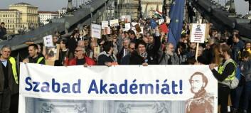 Akademisk frihet og demokratiet - et skjebnefellesskap under press
