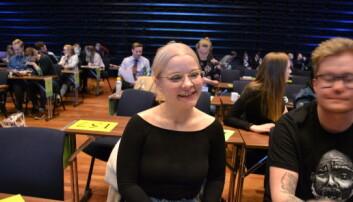Ane Kallset fra Universitetet i Oslo: — Biseth-Michelsen var best.