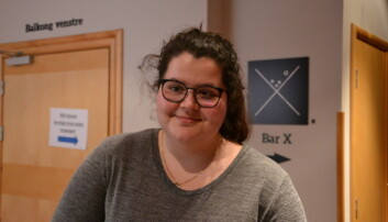 Martine Jordana Baarholm fra UiB:, mener enkelte kandidater utmerket seg.