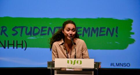 NSO: Flere kvinner på talerstolen i år