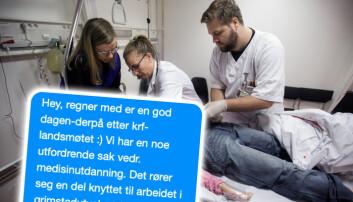 SMS-er fra sykehustopp avslører vanskelig samarbeid om en ny medisinutdanning i Stavanger