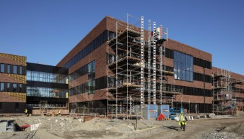 Bygget på Campus Ås som snart er ferdig. Foto: Trond Isaksen/Statsbygg