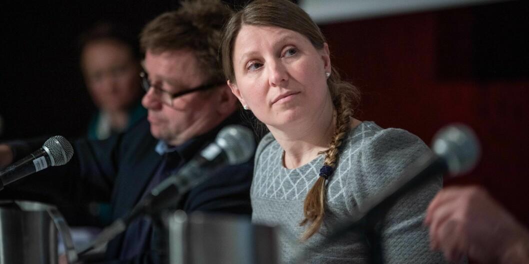 Guro Elisabeth Lind, leder i Forskerforbundet. Foto: Siri Øverland Eriksen