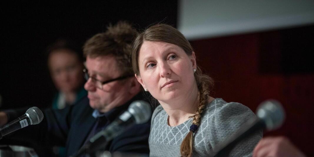 Guro Elisabeth Lind, leder i Forskerforbundet har liten tro på at Statsbygg vil endre holdning til kontorlandskap som følge av smittevernhensyn.