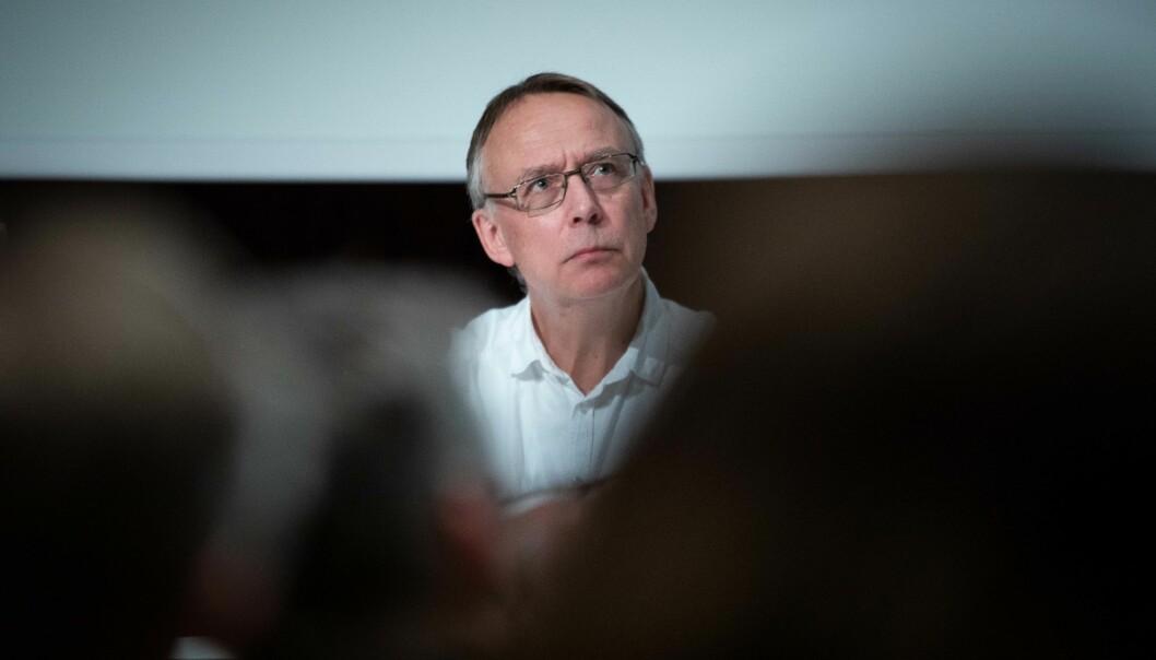 Forsker Jan Messel, OsloMet. Foto: Siri Øverland Eriksen