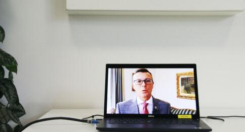 Rektor Olsen ønsker en CO₂-app