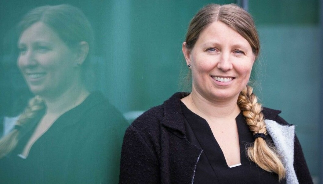 Forskerforbundets leder Guro Elisabeth Lind er bekymret over at medlemmene opplever å ha mindre medbestemmelse og medvirkning. Foto: Siri Øverland Eriksen