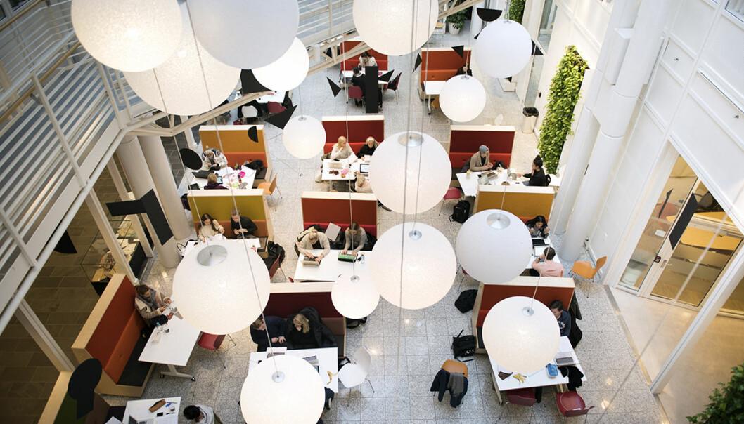 Høyskolen Kristiania har de mest fornøyde studentene i Norge innen økonomi og administrasjon. Foto: Høyskolen Kristiania