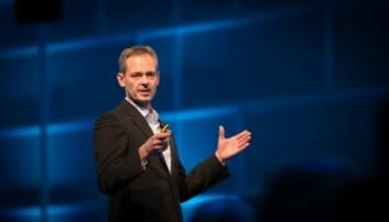 Hans Erik Vatne, styreleder. Foto: NTVA