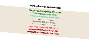 Store lønnsforskjeller i akademia. Sjekk tallene her.