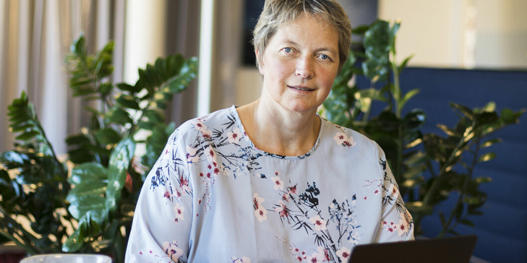 Konstituert Nord-rektor Hanne Solheim Hansen har mye på programmet om dagen. Onsdag og torsdag kommer Nokuts sakkyndige komité for å sjekke universitetets kvalitetsarbeid. Foto: Nord