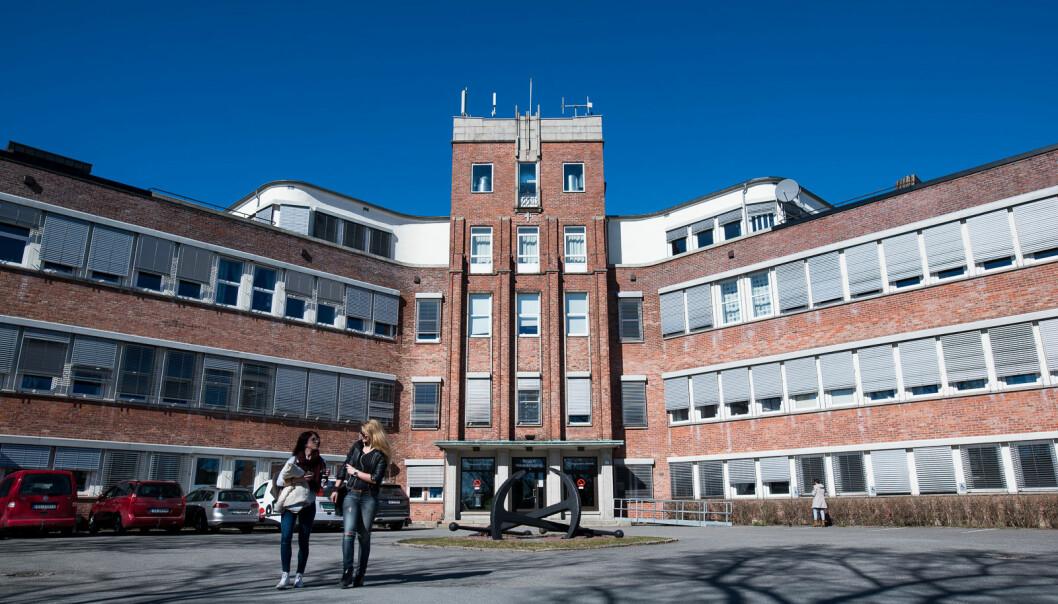 Høgskolen i Østfold kan bli til Høgskolen i Viken. Et navnebytte skal nå utredes. Foto: Skjalg Bøhmer Vold
