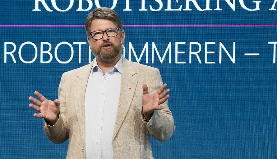 Jørn Øyrehagen Sunde var tidligere professor i rettsvitenskap ved Universitetet i Bergen. Han er nå samme stilling ved Universitetet i Oslo. Foto: Silje Katrine Robinson
