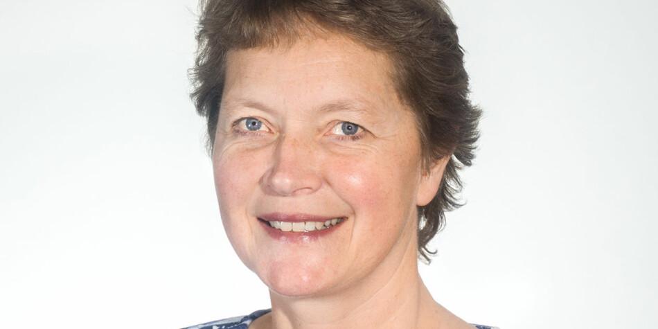 Hanne Solheim Hansen vil fortsatt være rektor på Nord. Hun har søkt jobben som nå er lyst ut. Foto: Nord