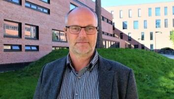 Dosent Morten Brekke søker jobben som viserektor for utdanning. Foto: Sissel Eikeland/UiA