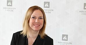 Audhild Gregoriusdatter Rotevatne er dekan ved Avdeling for mediefag i Volda. Foto: Høgskulen i Volda.