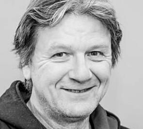 Erling Sivertsen, tillitsvalgt for Forskerforbundet ved Avdeling for mediefag. Foto: Høgskulen i Volda