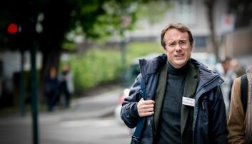 Johann Roppen, rektor ved Høgskulen i Volda, vil ikkje svara. Foto: Skjalg Bøhmer Vold