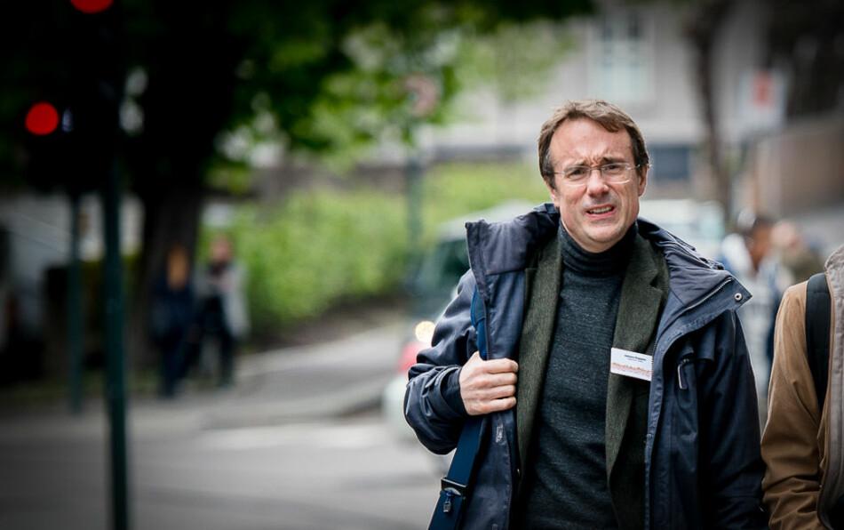 Johann Roppen, rektor ved Høgskulen i Volda, opplever forverring av arbeidsmiljøet ved Avdeling for mediefag. Foto: Skjalg Bøhmer Vold