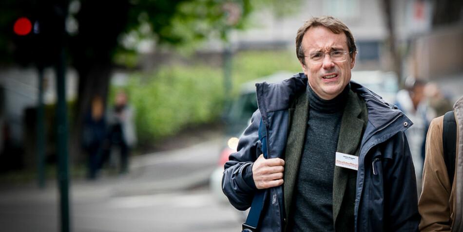 Johann Roppen, rektor ved Høgskulen i Volda, har trukket høgskolen fra søknadsrunden om å bli Senter for fremragende utdanning i journalistikk. Foto: Skjalg Bøhmer Vold