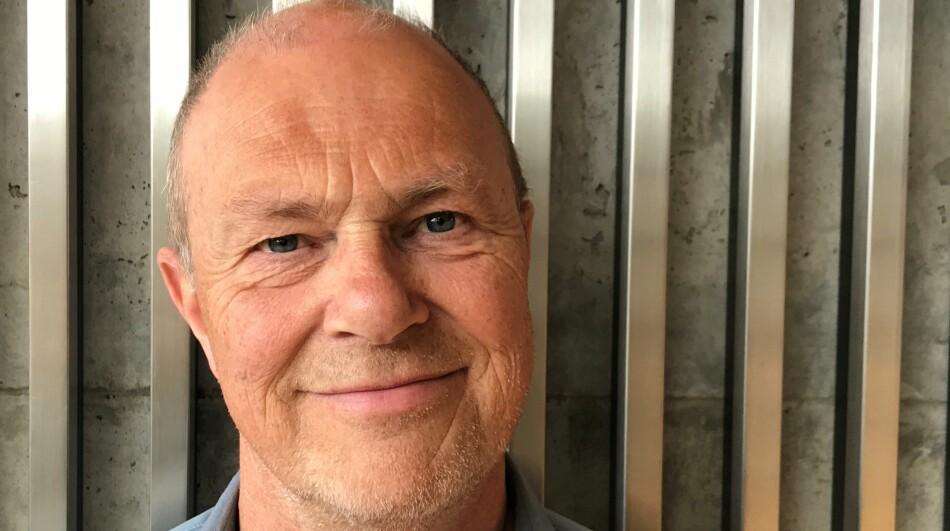 Professor Roel Puijk er fortvila over at forskingsmiljøet for filmvitskap blir svelta i Lillehammer. Foto: Trude Lindland