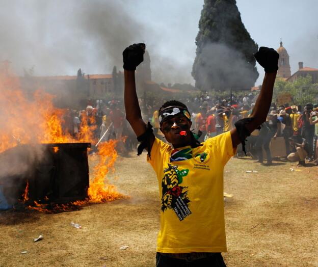 Dei rasande studentane i Sør-Afrika