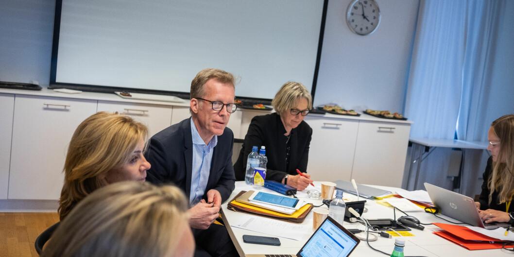 Rektor Curt Rice søker for andre gang om støtte til advokatutgifter i forbindelse med en varslingssak. Foto: Torkjell Trædal