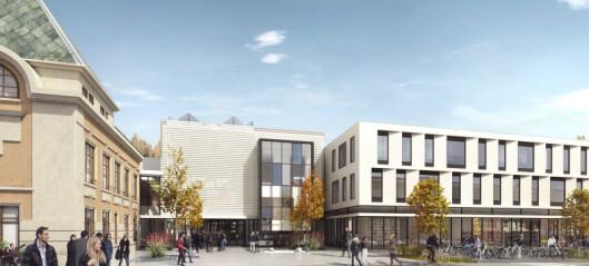 Bruker 450 millioner på universitetsbygg i Steinkjer. Nå kan en fjerdedel av studentene forsvinne.