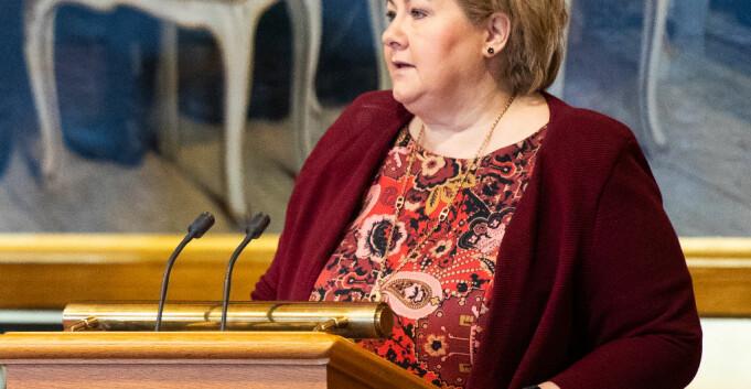 Solberg og Nybø måtte svare om Nord i Stortingets spørretime