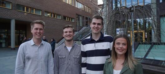 Studentparlamentet i Tromsø valgte ny ledelse