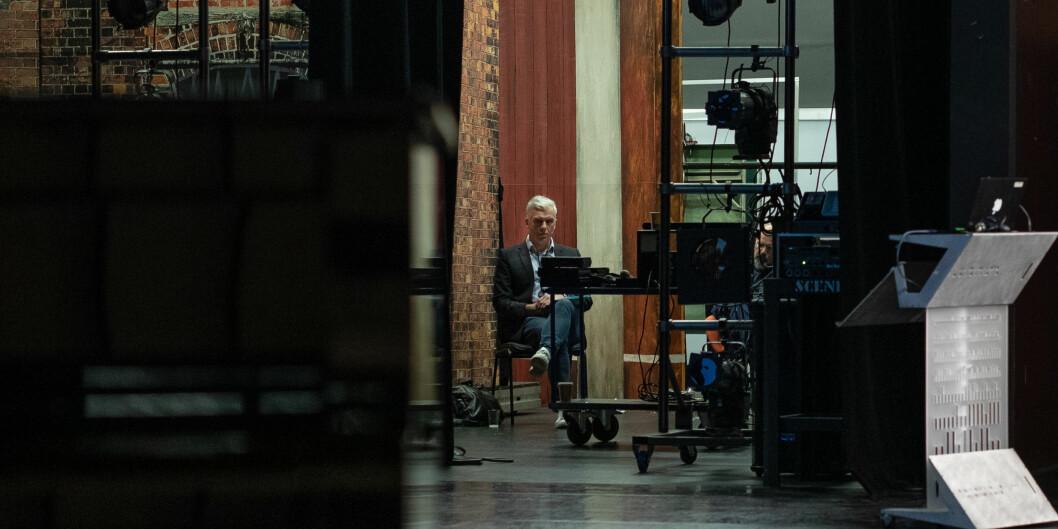 To ansatte ved Kunsthøgskolen i Oslo (KHiO) ble avskjediget i fjor. Rektor Jørn Mortensen ser nå at KHiO stevnes for retten, men selv er han inhabil i saken. Foto: Siri Øverland Eriksen