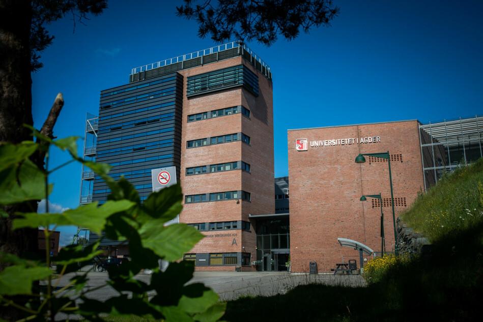 Universitetet i Agder (UiA). Foto: Skjalg Bøhmer Vold