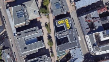 Faksimile fra OsloMets byggesøknad