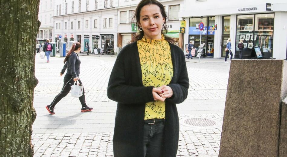 Heidi Wittrup Djup og psykologkollegaene hennar vil vere på vakt heile døgnet frå 20. mai for fire veker framover. Foto: Dag Hellesund