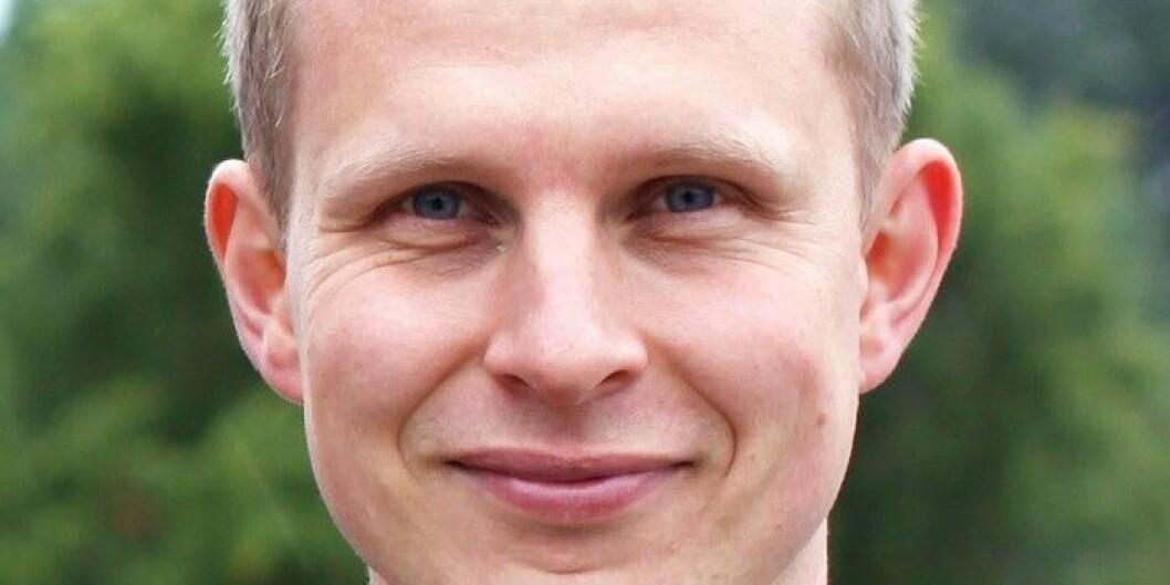 Erik Lunde begynner i ny jobb ved Universitetet i Agder. Foto: KrF