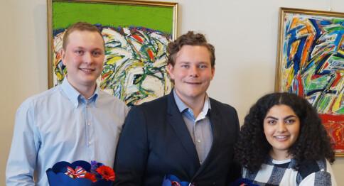 Nestleder ble leder for studentene i Stavanger