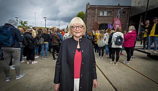 Berit Rokne er rektor ved HVL og reagerer sterkt. Foto: Tor Farstad
