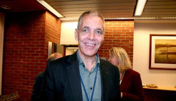 Sverre Gotaas er oppnevnt som ekstern styrleder ved USN. Foto: An-Magritt Larsen/USN